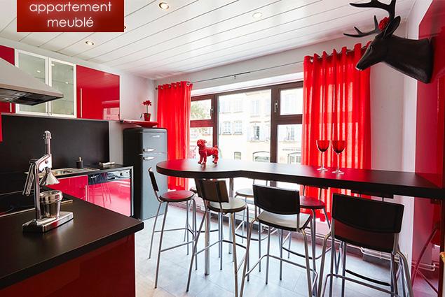 le ln appartement meubl de standing pr t vivre en location strasbourg. Black Bedroom Furniture Sets. Home Design Ideas